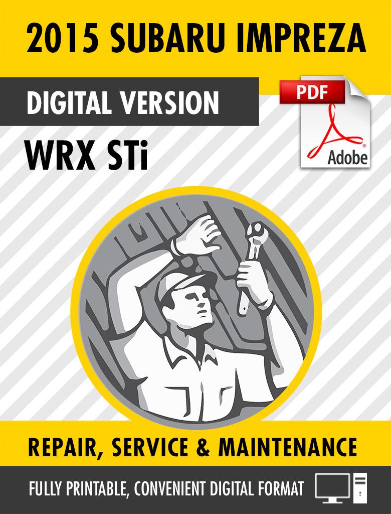 2015 wrx service manual pdf