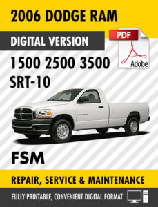 2005 dodge ram 3500 service manual