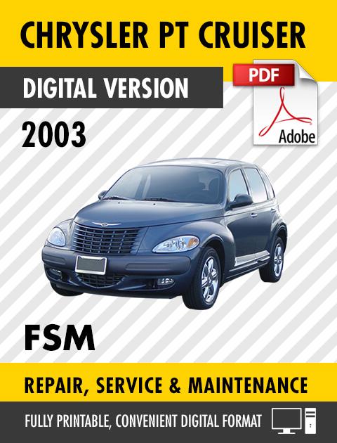 2003 chrysler pt cruiser repair manual 2003 chrysler pt