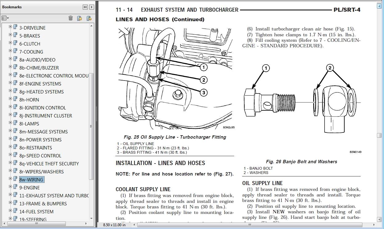 2004 dodge neon srt 4 factory service repair manual. Black Bedroom Furniture Sets. Home Design Ideas