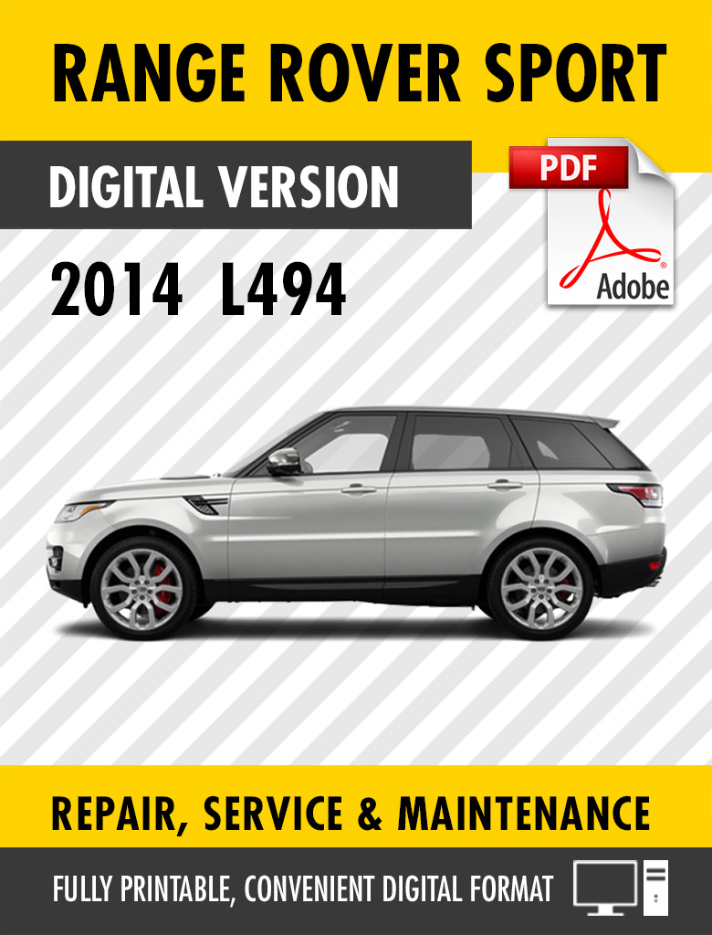 2014 Range Rover Sport Factory Service Repair Manual L494