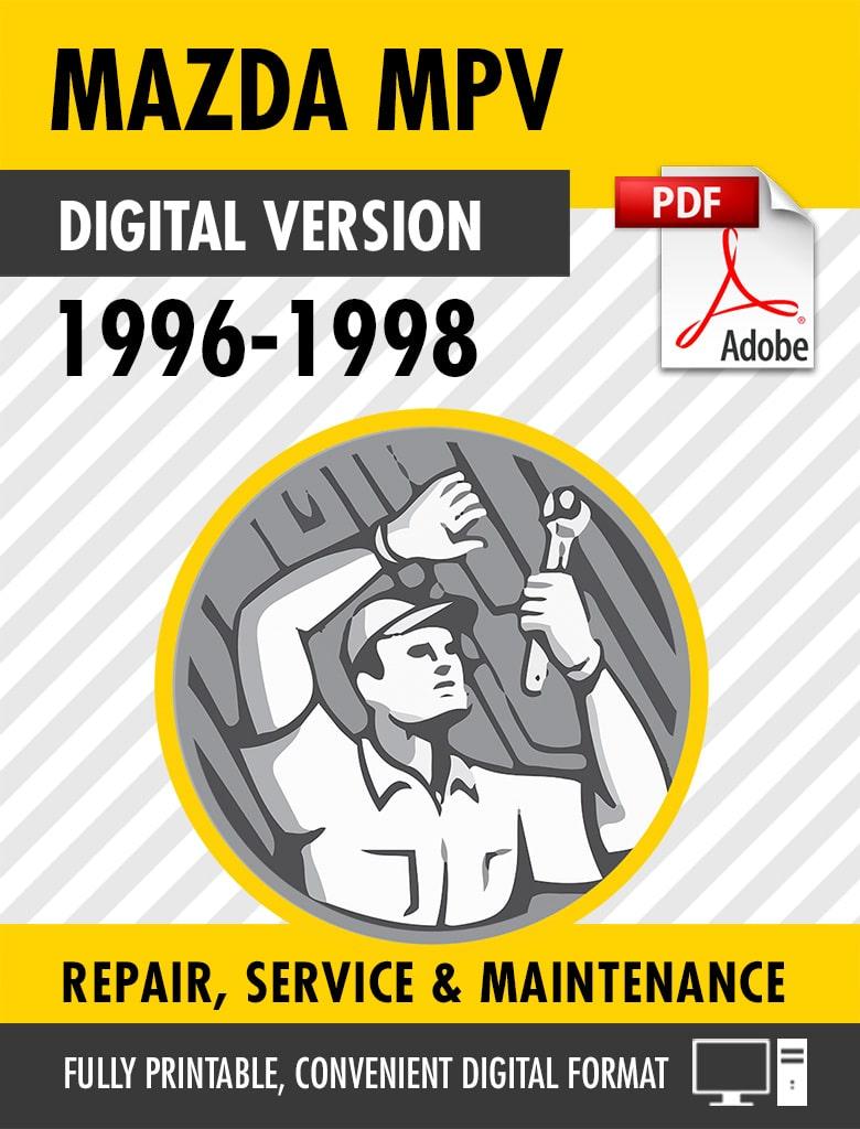 1996-1998 Mazda MPV Factory Repair Service Manual