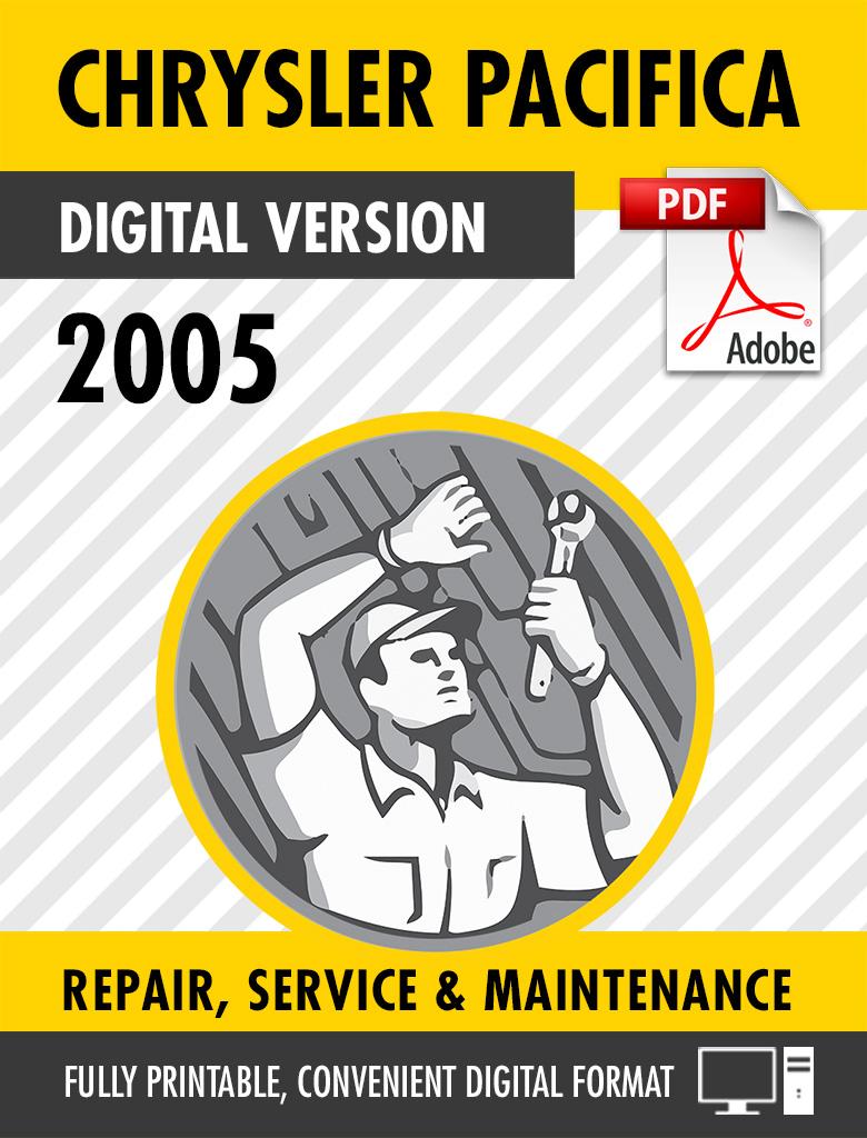 2005 Chrysler Pacifica Factory Repair Service Manual