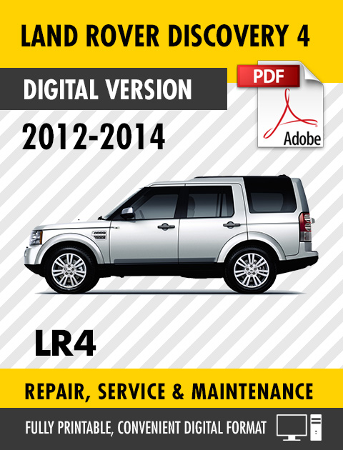 Land Rover Discovery 4 2009 2010 2011 Factory service repair manual