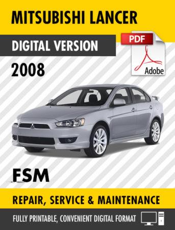 2008 mitsubishi lancer manual pdf
