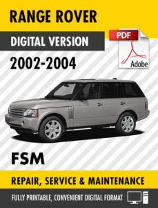 range rover craig s manuals rh craigsmanuals net 2004 range rover service manual download 2004 range rover owners manual download
