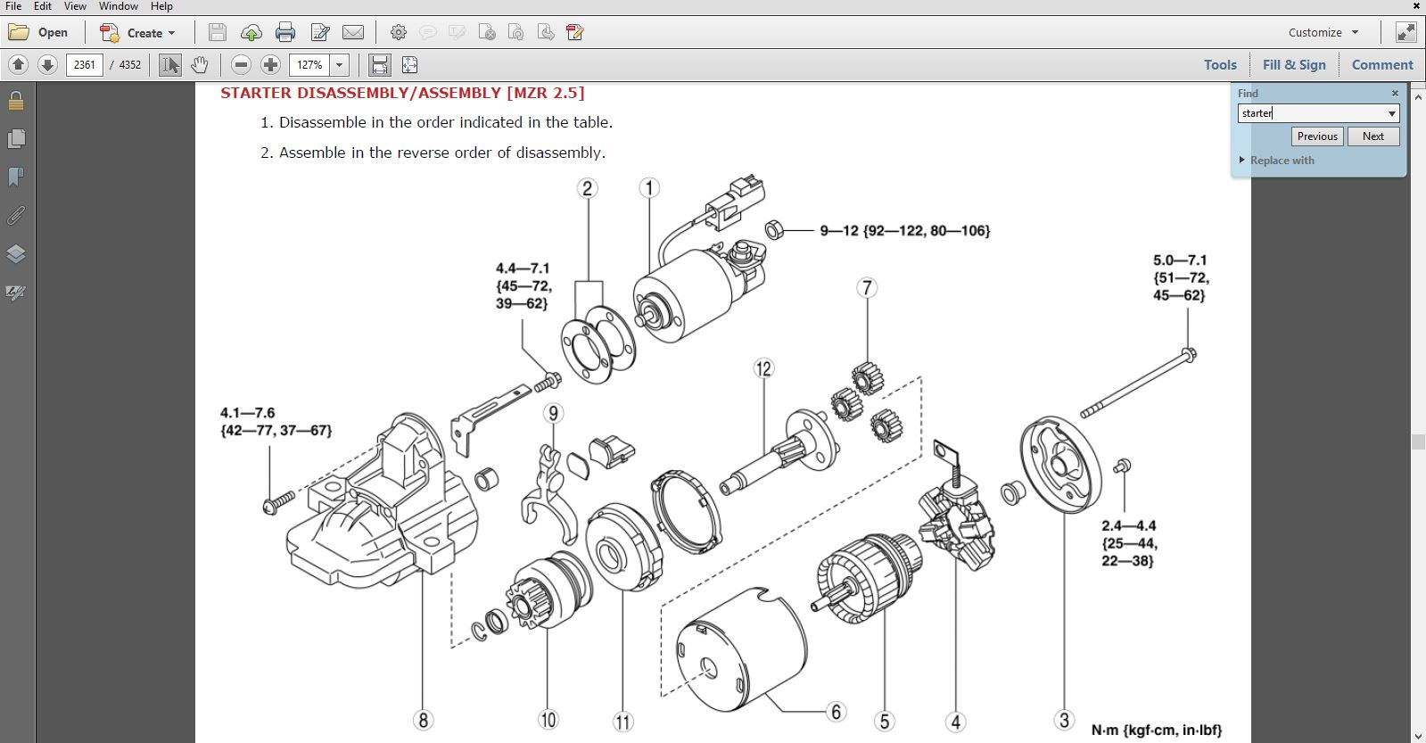 2014 Mazda5 Factory Repair Service Manual