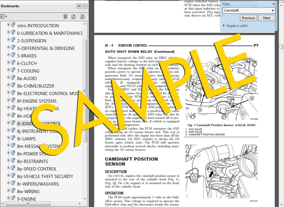 2014 subaru outback factory service manual