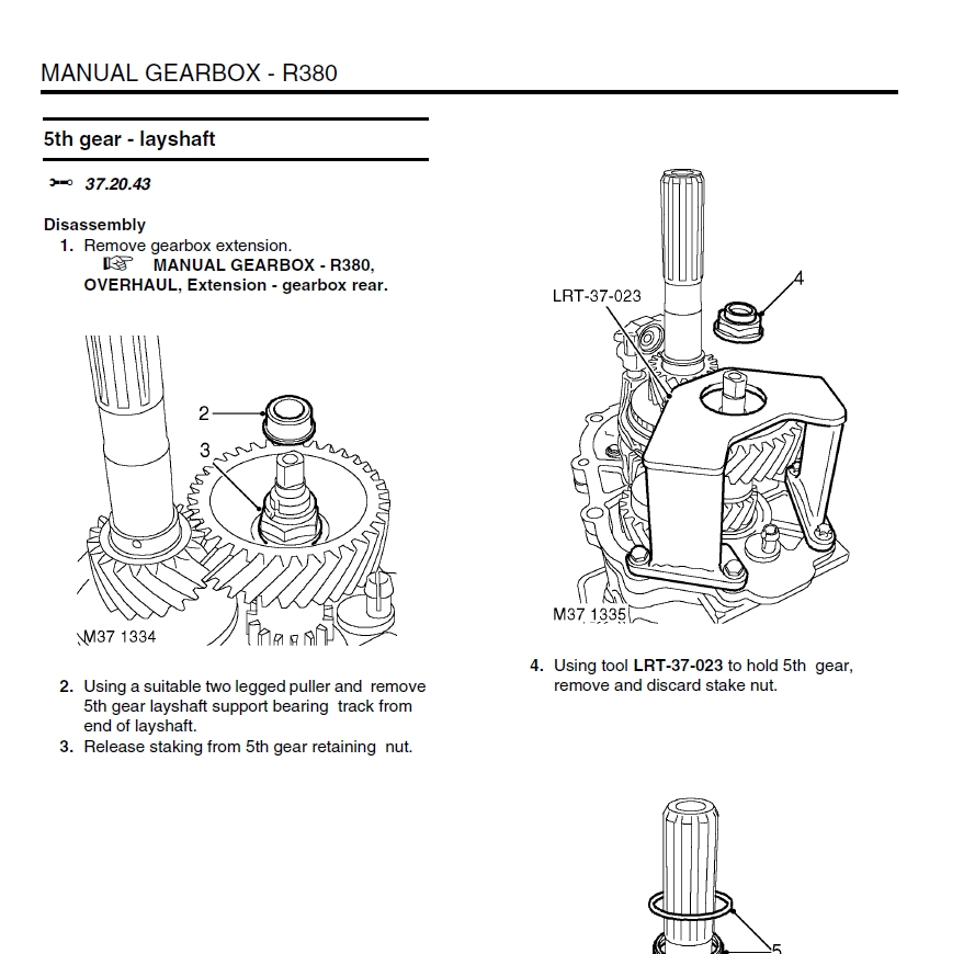 1999  u2013 2003 land rover discovery ii factory service manual