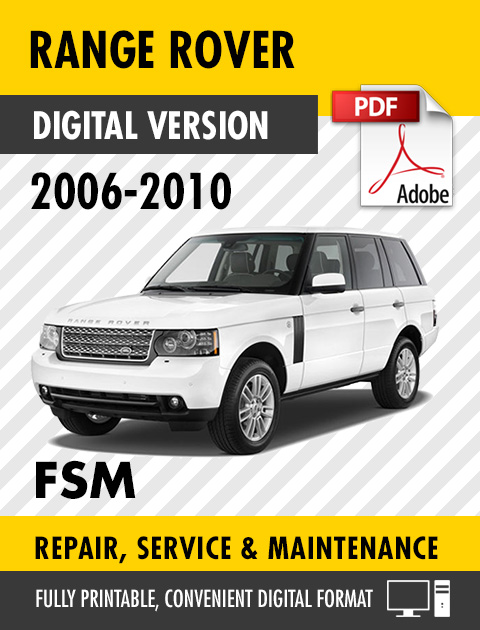 2006 2010 land rover range rover factory repair service manual2006 2010 land rover range rover factory repair service manual workshop manual