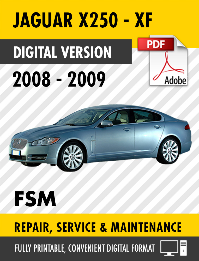 2008 2009 Jaguar Xf X250 Factory Service Repair Manual  U2013 Craig U0026 39 S Manuals