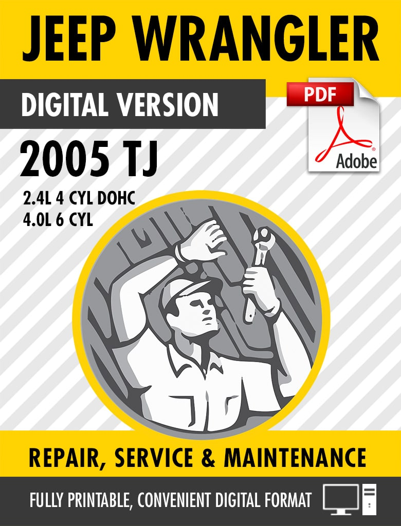 ... TJ Factory Repair Service Manual. preview-sample